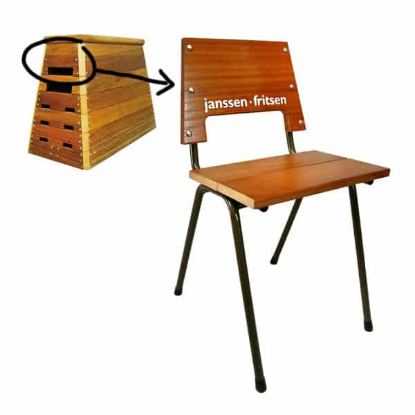 houten industriële stoel Moscow