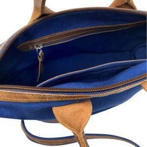 Inside the handbag